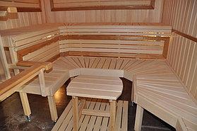 Русская баня в коттедже г.Астана 5