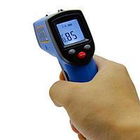 Пирометр Benetech GM321, лазерный термометр от -50 до +400°С, фото 1