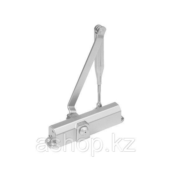 Доводчик дверной верхнего расположения DORMA TS Compakt, Масса двери: 120 кг, Регулирование дохлопа: 15° – 0°,