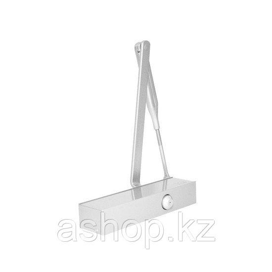 Доводчик дверной верхнего расположения DORMA TS Profil, Масса двери: 150 кг, Регулирование дохлопа: 15° – 0°,