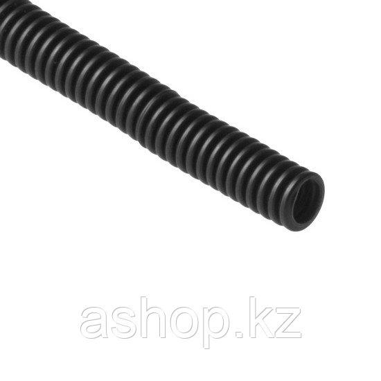 Труба гофрированная электротехническая Рувинил 21601, Диаметр: 16мм, Длина: 100 м, Материал: ПНД (Полиэтилен н