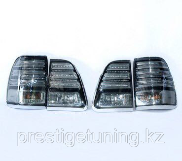 Задние фонари на LC100 1998-2007 White color