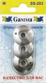"Шпулька для фриволите ""Gamma"" SS-203, 3 шт в блистере"