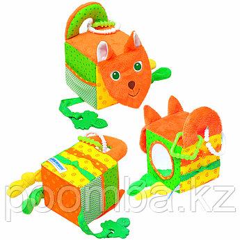 Мякиши Игрушка Кубик Лиса