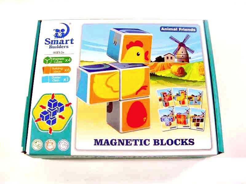 Магнитные кубики