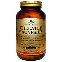 Solgar  Магний хелатный 100 мг 250 таблеток.