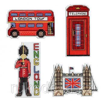 """Набор для вышивания """"Магниты. Англия"""""""