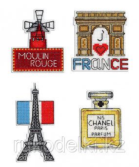 """Набор для вышивания """"Магниты. Франция"""""""