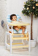 Стульчик для кормления Happy Baby Oliver yellow, фото 1