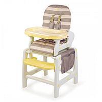 Стульчик для кормления Happy Baby Oliver beige, фото 1