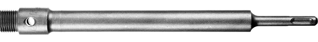 (29187-300_z01) Державка ЗУБР для бур коронки с хвостовиком SDS Plus, L-300мм,резьба М22