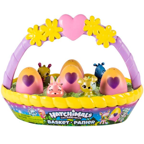 """Hatchimals  Хетчималс Игровой набор с коллекционными фигурками """"Весенняя корзина"""""""