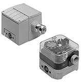 Дифференциальные датчики-реле давления газ/воздух DUNGS LGW A4 (A4/2), GGW A4 (A4/2)