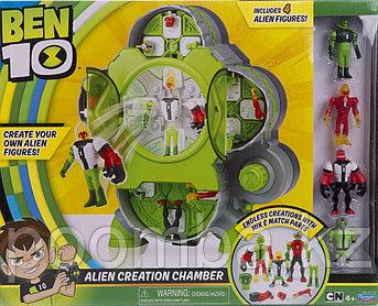 """Игровой набор """"Бен 10"""" - Камера создания пришельцев (4 фигурки)"""