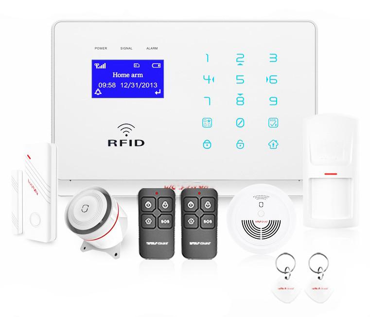 Охранная GSM Wifi RFID сигнализация