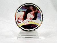Фото кристаллы с вашим фото. Логотип на кристалл