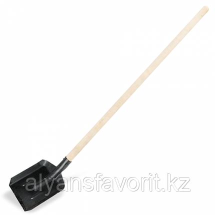 Лопата совковая с черенком, фото 2