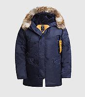 Куртка мужская HUSKY BLUE\ORANGE