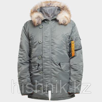 Куртка мужская HUSKY OLIVE\ORANGE
