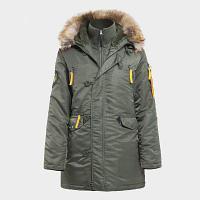 Куртка женская HUSKY WOMAN'S OLIVE\ORANGE