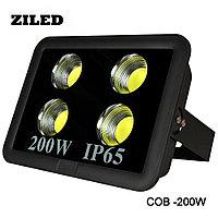 Прожектор LED ZI-COB200W,AC 85-265V, 6500K, фото 1
