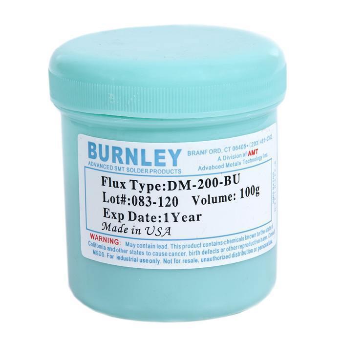 Флюс паста BURNLEY DM-200-BU (100g) для BGA