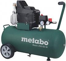 Масляный компрессор Metabo Basic 250-50 W, 1.5кВт, 50л