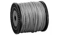 Трос стальной, оцинкованный, DIN 3055, в оплетке ПВХ, d= 4/5 мм, L=200 м, ЗУБР Профессионал , фото 1