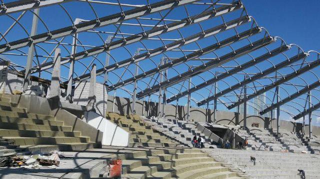 Антикоррозийная обработка металлоконструкций амфитеатра в центральном парке г.Астана / 2017 год 40