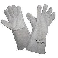 Перчатки сварочные «брезент»