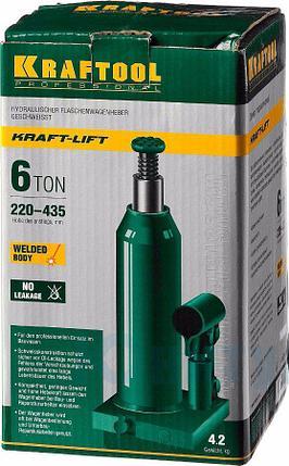 Домкрат гидравлический бутылочный сварной KRAFTOOL 43462-6_z01, фото 2