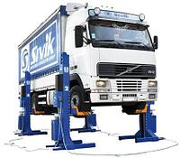 Подъемник гаражный передвижной ПГП-30000 для грузового транспорта