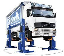 Подъемник гаражный передвижной ПГП-45000 для грузового транспорта