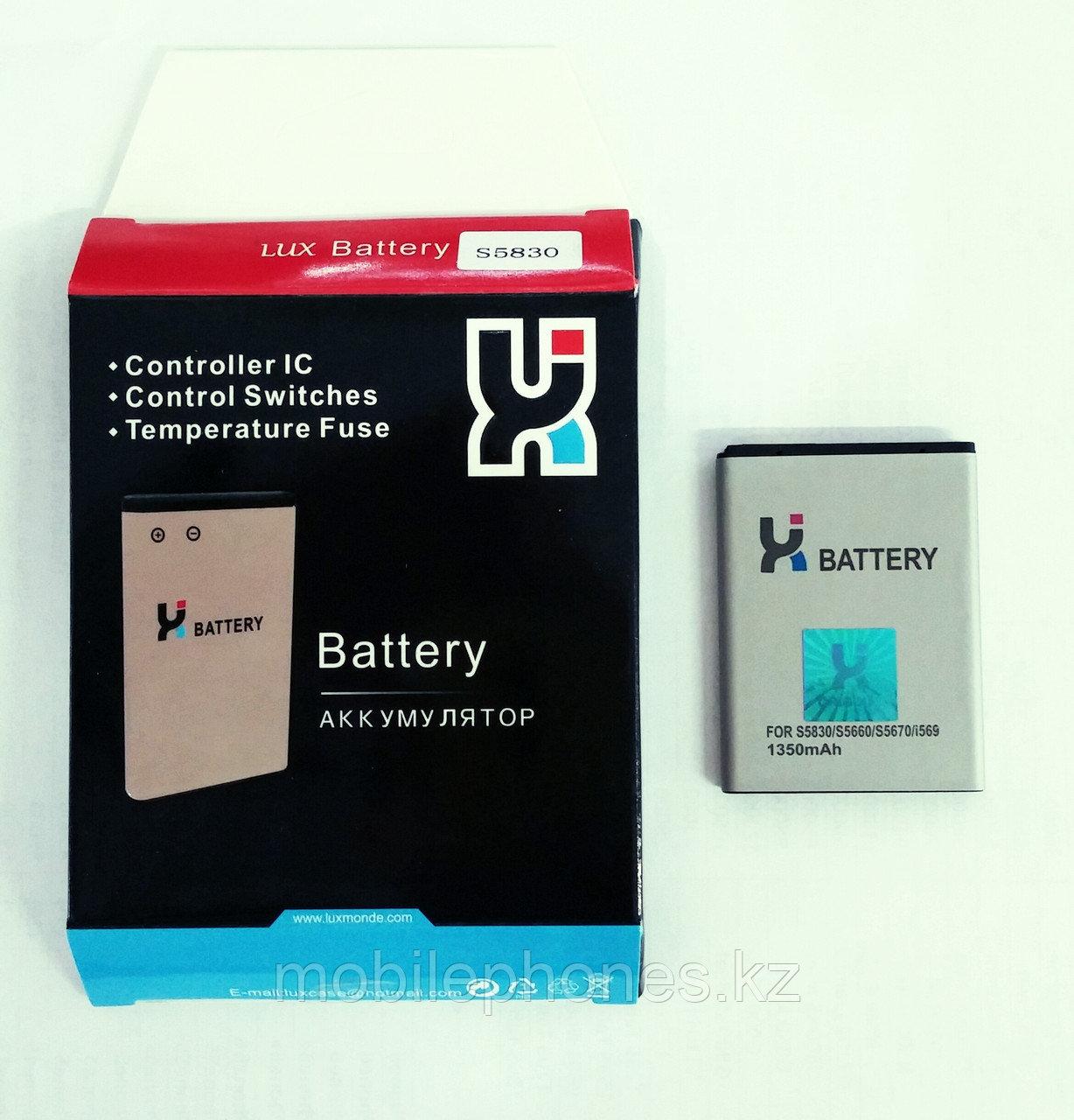 Samsung s5830 батарея