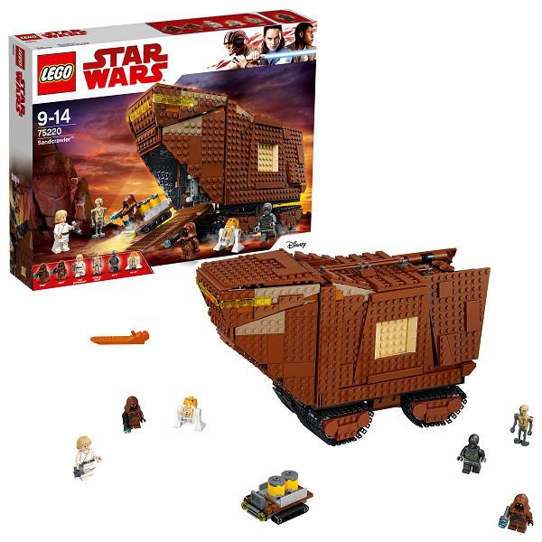 Lego Star Wars Конструктор Лего Звездные Войны Песчаный краулер