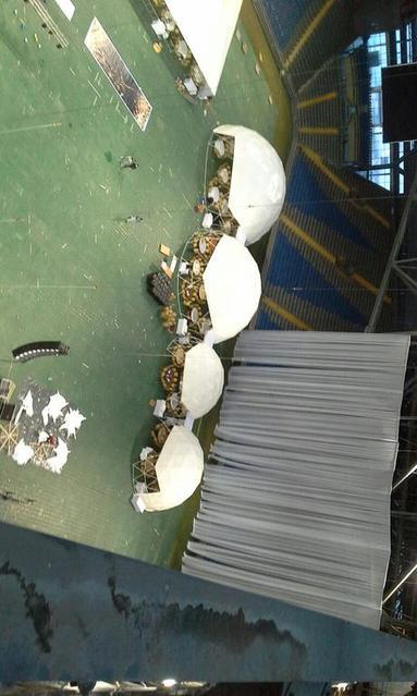 """Монтаж декоративных и рекламных конструкций на стадионе """"Астана Арена"""" / 2018 год 14"""