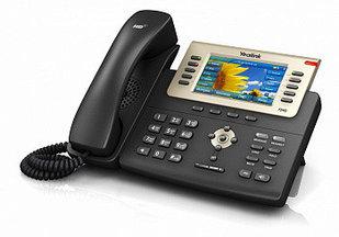 IP телефон Yealink  SIP-T29G, цветной экран, SIP 16 аккаунтов, BLF, PoE, GigE, с БП