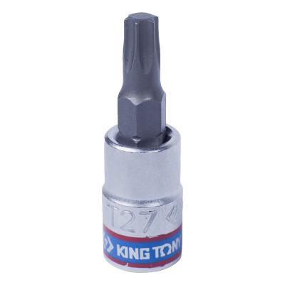 """Насадка (бита) торцевая 1/4"""", TORX T27, L = 37 мм KING TONY 203327"""