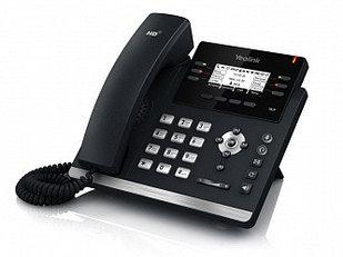 IP телефон Yealink  SIP-T41P SIP 3 линии, BLF, PoE, без БП