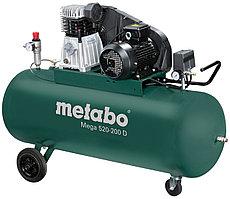 Компрессор Metabo MEGA 520-200 D, 3кВт, 10б, 200л