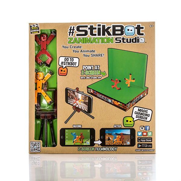 Stikbot  Стикбот Анимационная студия со сценой