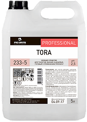 Моющее средство для туалетов, ванных и душевых Tora (5 л)