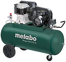 Компрессор Metabo MEGA 650-270 D, 4кВт, 11б, 270л