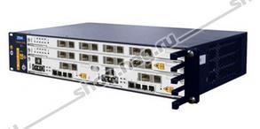 2RU шасси ZTE OLT GPON, 2 слота для установки интерфейсных модулей, 8 GPON портов, DC