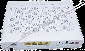 Абонентский терминал ZTE ONT GPON, 4 порта 10/100Base-T, 1 порт POTS, WiFi, USB