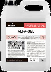 Усиленное средство против известковых отложений и ржавчины Alfa-gel (5 л)