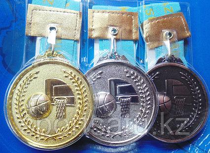 Наградная медаль для баскетбола