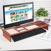 Органайзер для клавиатуры деревянный