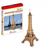 3D Puzzle LingLeSi Eiffel Tower, 20pcs Пазл Эйфелева башня, 20 деталей