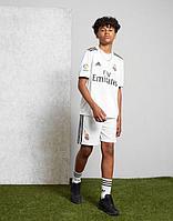 Реал Мадрид форма детская 2018/19 домашняя (майка+шорты)
